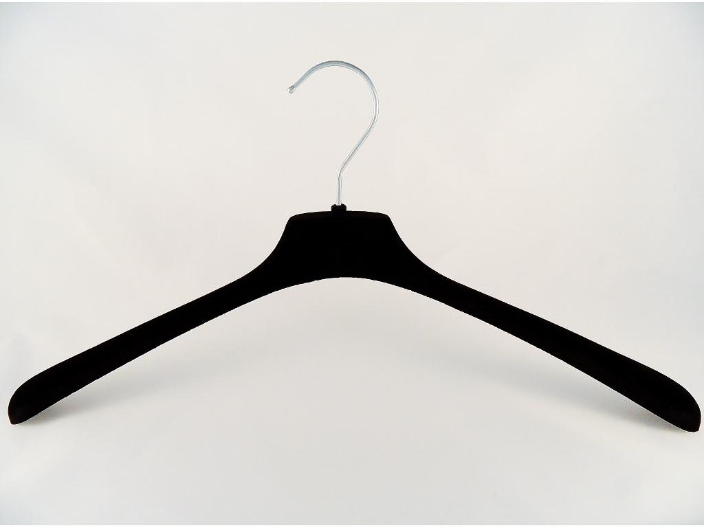 samt kleiderb gel f r blusen hemden 45 cm schwarz. Black Bedroom Furniture Sets. Home Design Ideas
