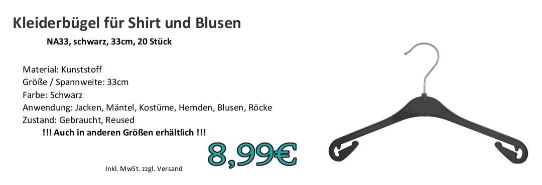 Kleiderbügel für Blusen NA33